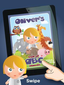 Oliver's ABC poster