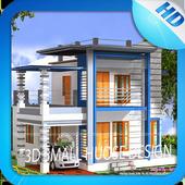 3D Small House Design icon