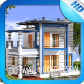 3D Small House Design icon
