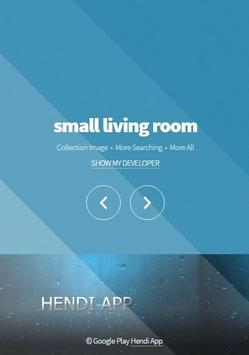 small living room poster