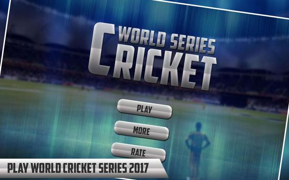 World Cricket Series 2017 poster