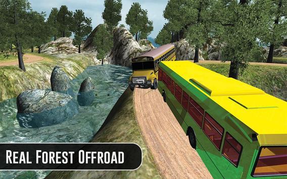 OffRoad Bus Drive Sim 3D 2017 poster