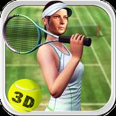 Tennis Star Girl 2017 icon