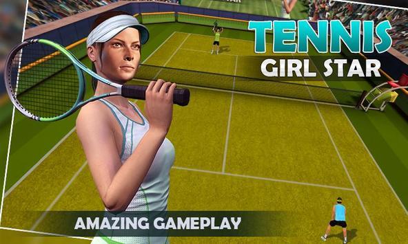 Tennis Star Girl 2017 screenshot 3