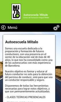 Autoescuela Mitalo screenshot 1