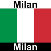 Map of Milan - Tourist Guide icon