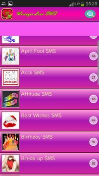 3000+ Love Messages screenshot 4