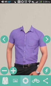 Man Casual Shirt Photo poster