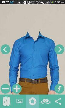 Man Casual Shirt Photo screenshot 1
