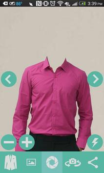 Man Casual Shirt Photo screenshot 2