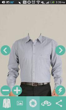 Man Casual Shirt Photo screenshot 3