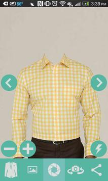 Man Casual Shirt Photo apk screenshot