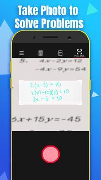 數學計算器 - 通過拍照解決數學問題 截圖 1
