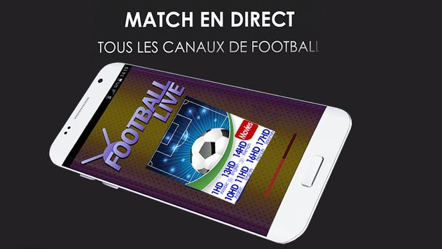 smart tv football en direct poster