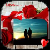Beautiful Couple Photo Frame icon