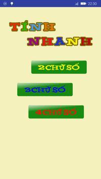 Fast calculation - Tính Nhanh poster