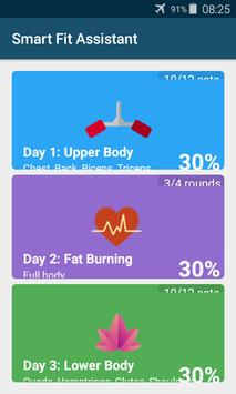 Smart Fitness Assistant poster