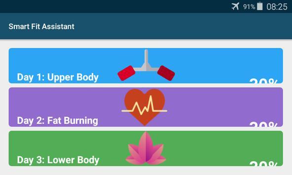 Smart Fitness Assistant apk screenshot