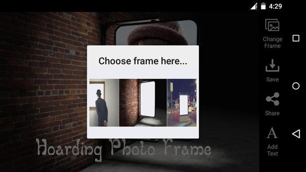 Hoarding HD Photo Frame screenshot 3