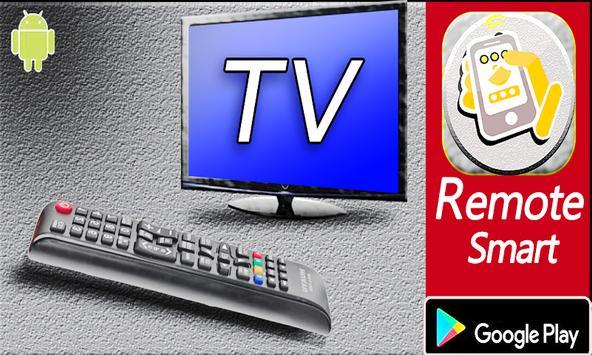 Télécommande smart TV poster