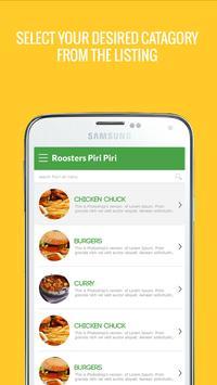 ROOSTERS PIRI PIRI screenshot 1