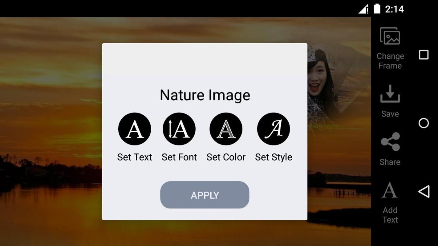 Sunset Photo Frame HD APK-Download - Kostenlos Fotografie APP für ...