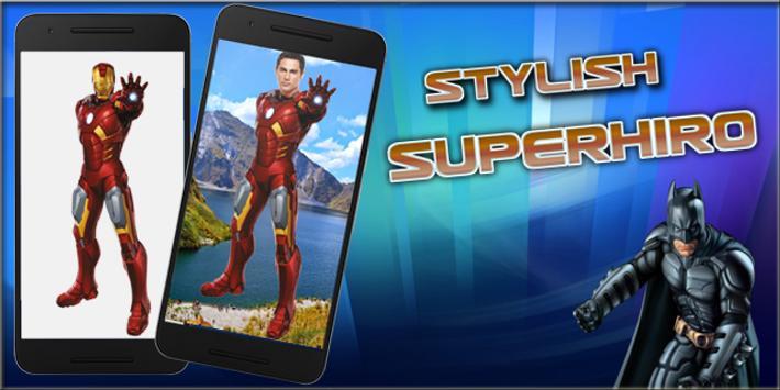 Superhero Photo Suit poster