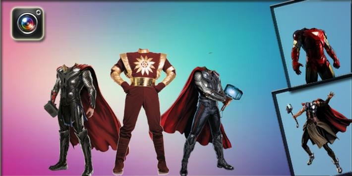 Superhero Photo Suit screenshot 1