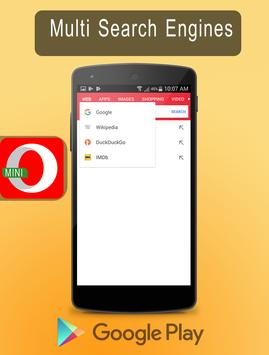 New Opera Mini - fast web browser Tips screenshot 1