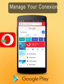 New Opera Mini - fast web browser Tips screenshot 2
