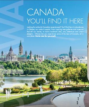 canada travel guide poster