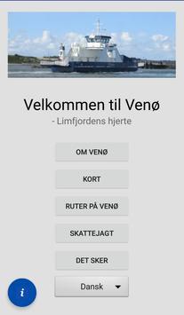 Venø App poster