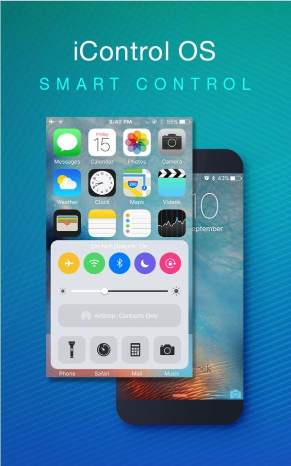 Control Panel OS 10 for Android - APK Download