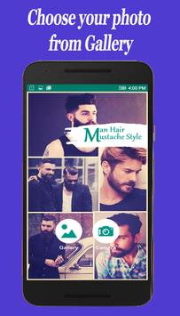 Man Hair Mustache Style screenshot 1