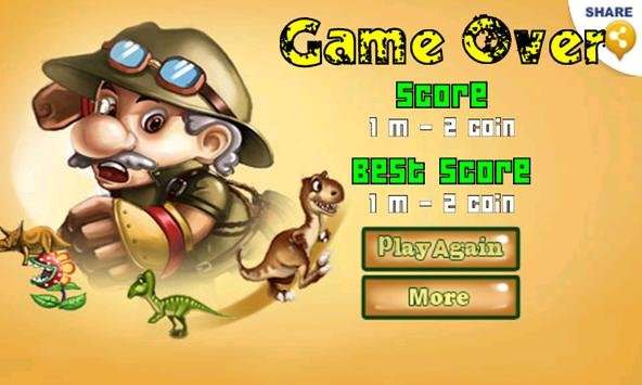 Jurassic Age : Run and Jump apk screenshot