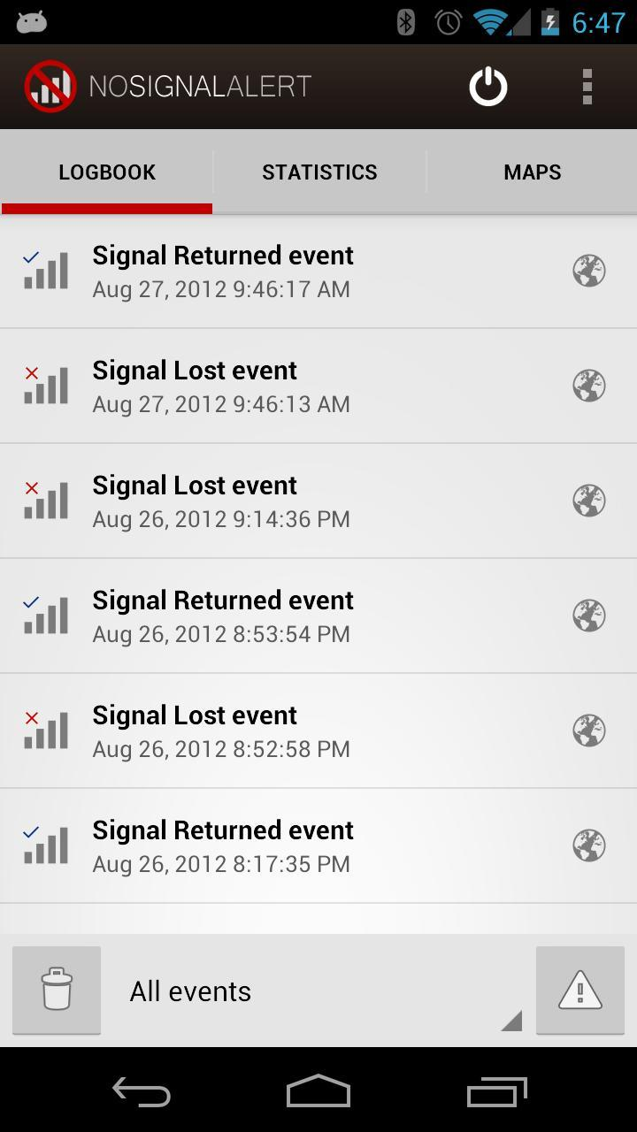 No Signal Alert for Android - APK Download