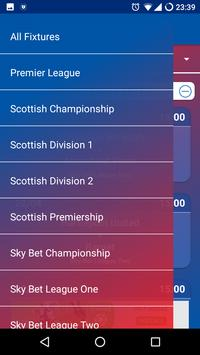 Football Fix - UK TV Fixtures apk screenshot
