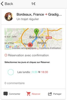 Covyou - Frequent Carpooling apk screenshot