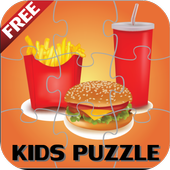 Foods Puzzle for Kids icon