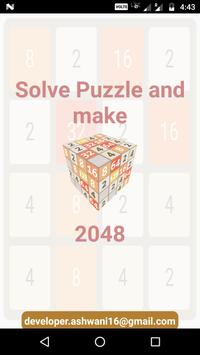 2048 Puzzle: Classic Number Puzzle poster