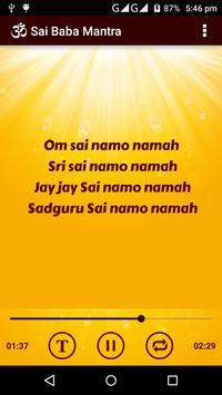 Sai Baba Mantra apk screenshot