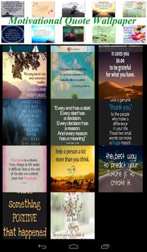 Motivational Quote Wallpaper apk screenshot