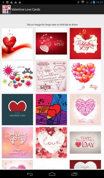 Valentine Love Cards poster
