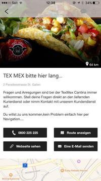 TexMex St. Gallen poster