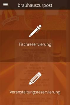 Brauhaus zur Post apk screenshot
