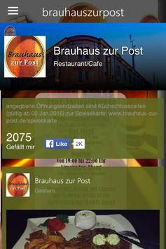 brauhaus zur post frankenthal speisekarte