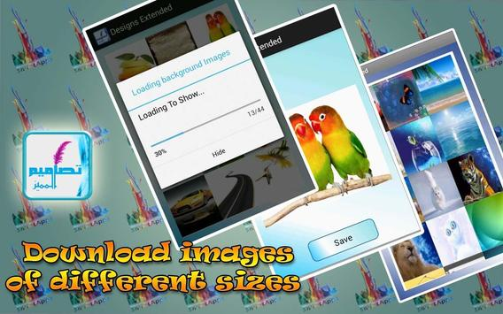 Designs Extended: Photo Editor apk screenshot