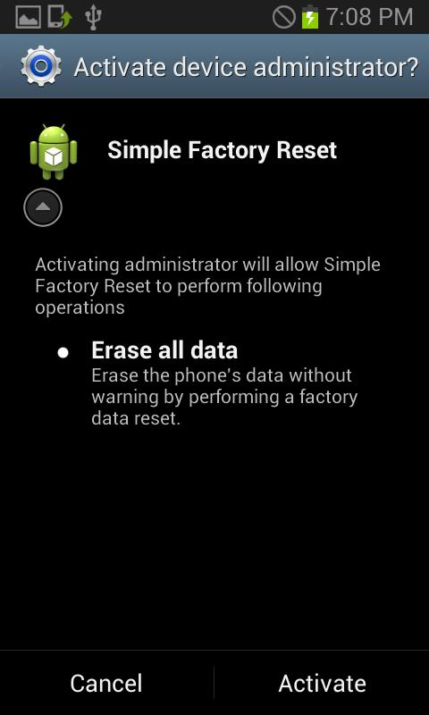 Free] Simple Factory Reset for Android - APK Download