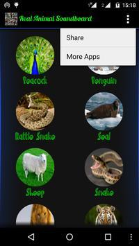 Animal Sounds Real. apk screenshot