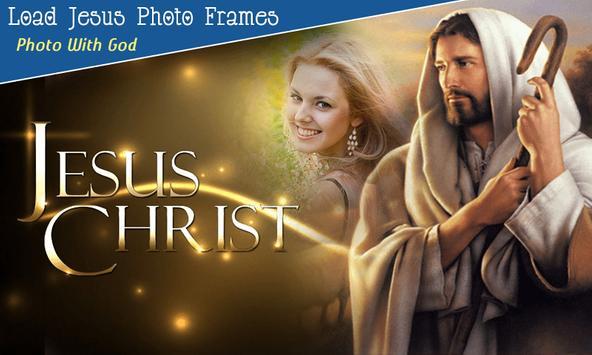 God Jesus Photo Frame 截图 4